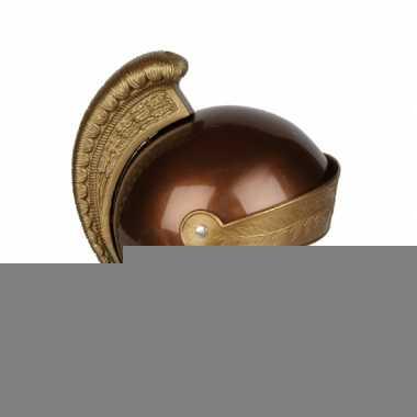 Romeinse kinder helm goud
