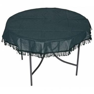 Rond tafelzeil voor buiten donkergroen 160 cm