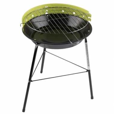 Ronde barbecue / grill groen