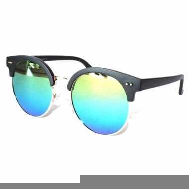 Ronde spiegel heren zonnebril model 1398