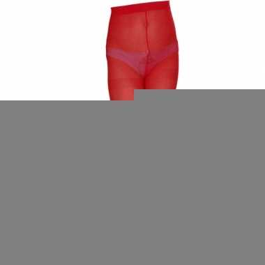 Rood gekleurde panty voor kids