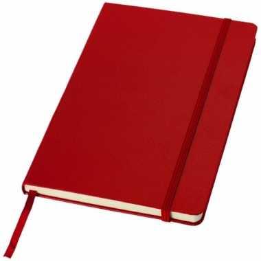 Rood kantoor notittie boek a5