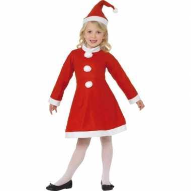 Rood kerst kostuum meiden