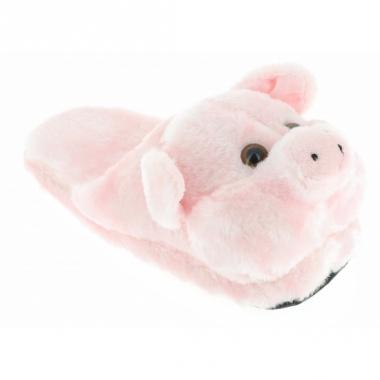 Roze varken sloffen voor kinderen