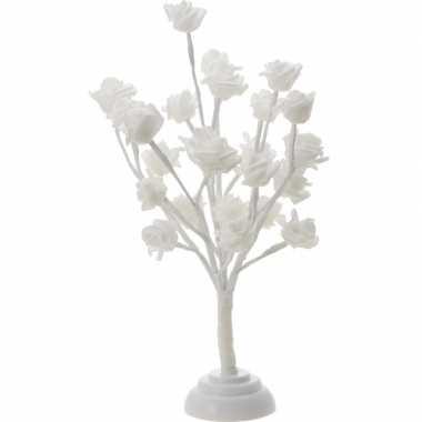 Rozenboom warm wit 24 led 40 cm