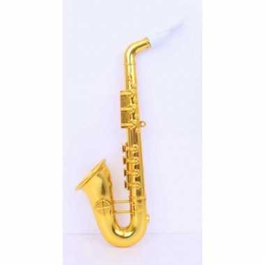 Saxofoon van plastic 37 cm