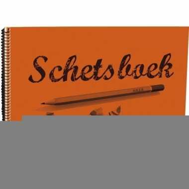 Schetsboek 28 x 20 cm