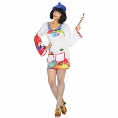 Schilder verkleed pak/kostuum voor dames