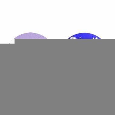 Schmink in lila kleur van superstar