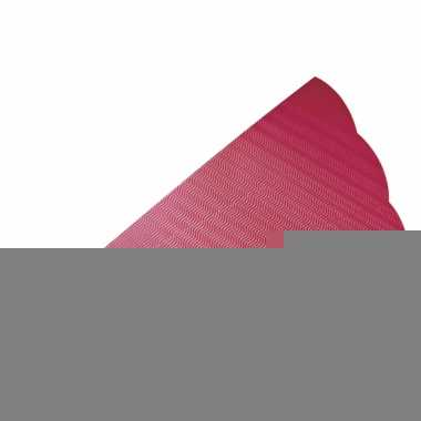 Schoolzak van rood golfkarton 68 cm