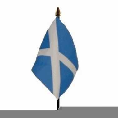 Schotland vlaggetje met stokje