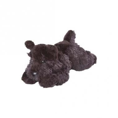 Schotse knuffel terriers zwart 18 cm