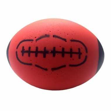 Schuimrubber rugby bal rood