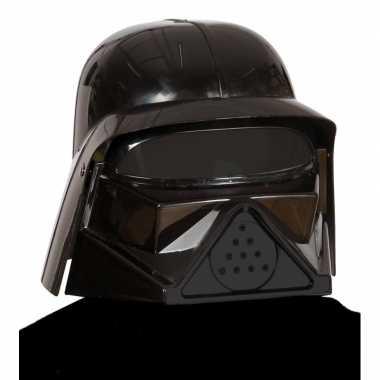 Schurk dark lord helm voor volwassenen