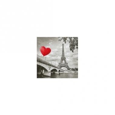 Servetjes liefde eiffeltoren 20 stuks