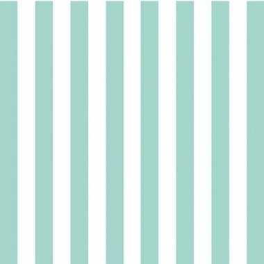Servetten blauw wit gestreept 3-laags 20 stuks
