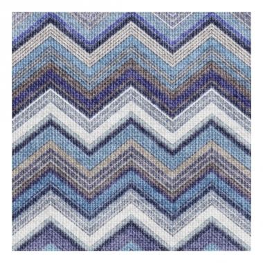Servetten zigzag blauw 3-laags 20 stuks