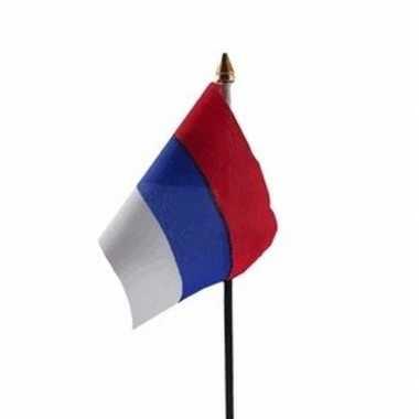 Servie vlaggetje met stokje