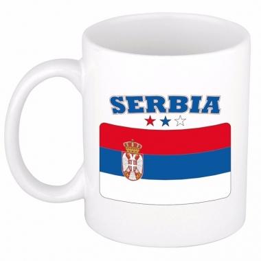 Servische vlag theebeker 300 ml
