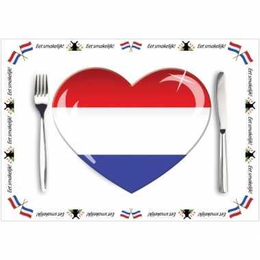 Set van 10 holland placemats