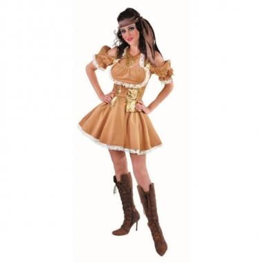 Sexy gouden jurk voor dames