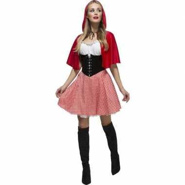 Sexy roodkapje jurkje voor dames