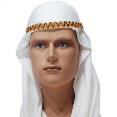Sheik hoofddoek wit