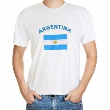 Shirts met vlag van argentinie