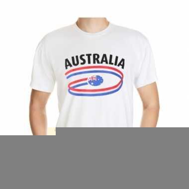 Shirts met vlaggen thema australia