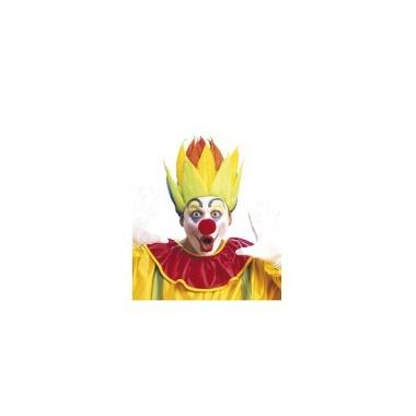 Shock clownspruik meerkleurig
