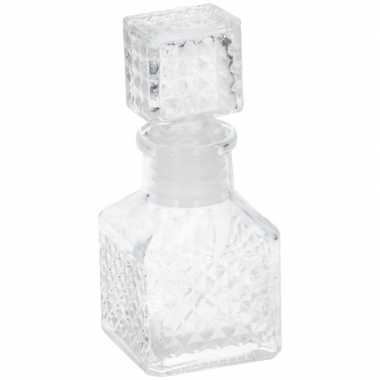 Shotglas karaf vorm 55 ml