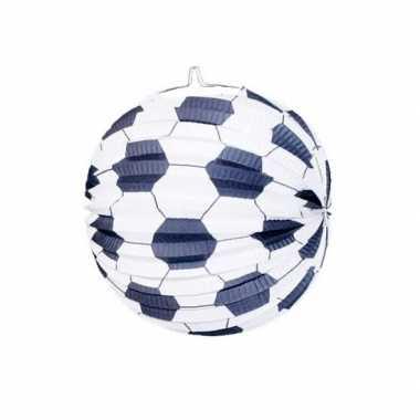 Sint maarten lampion van een voetbal