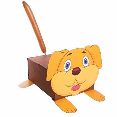 Sinterklaas hond suprise bouwpakket