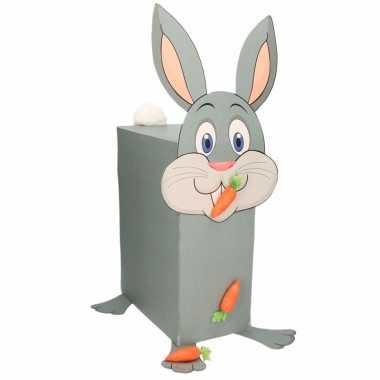 Sinterklaas konijn met wortel suprise bouwpakket