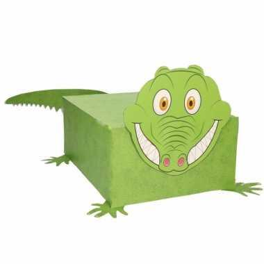 Sinterklaas krokodil suprise bouwpakket