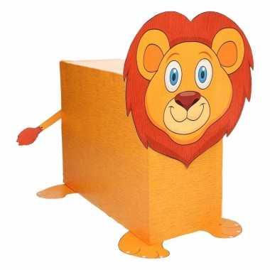 Sinterklaas leeuw suprise bouwpakket