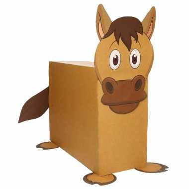 Sinterklaas paard suprise bouwpakket