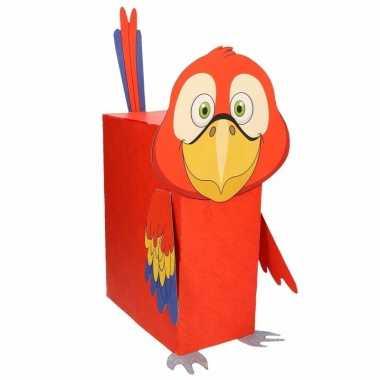 Sinterklaas papegaai suprise bouwpakket