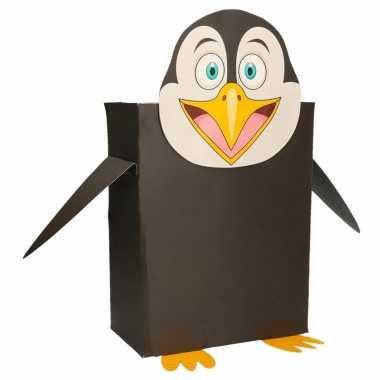 Sinterklaas pinguin suprise bouwpakket
