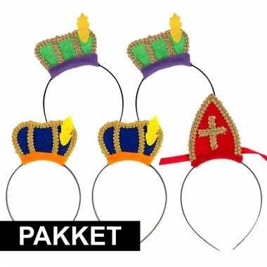 Sinterklaas - sinterklaas intocht pakket voor 5 personen