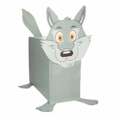 Sinterklaas wolf suprise bouwpakket