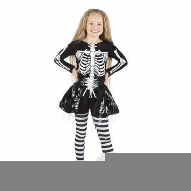 Skelet kostuum voor meisjes