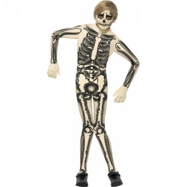 Skelet outift voor kinderen