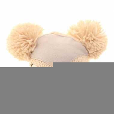 Skimuts rendier met oren voor kinderen