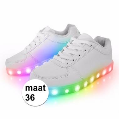 Sneakers met lichtgevende zool maat 36