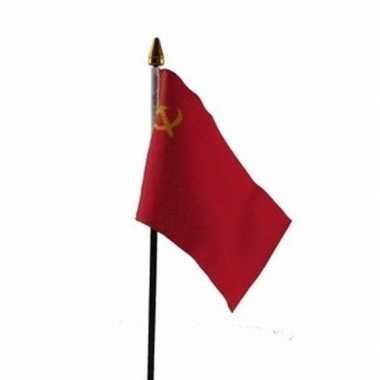 Sovjet unie vlaggetje met stokje