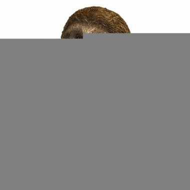Spaarpot luiaard met baby 11 cm