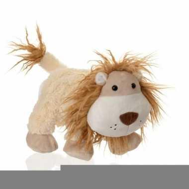Speel handpop leeuwtje 24 cm trend