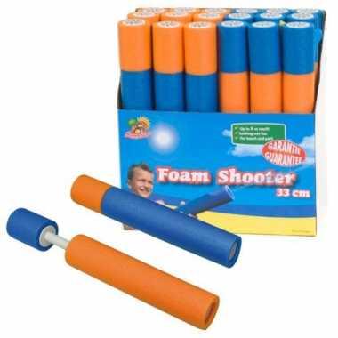 Speelgoed waterpistool van foam 33 cm