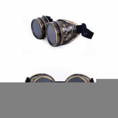 Steampunk goggles van latex